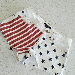 Adorable Patriotic shorts for the summer!!